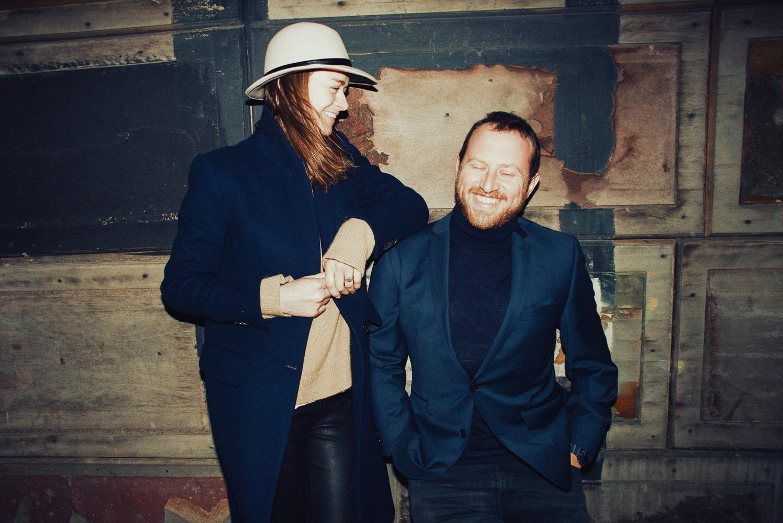 Hackney Wick London engemenent photography couple