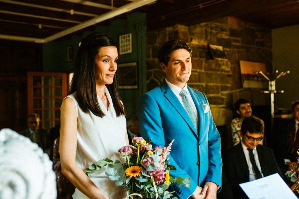 Elise et Julien mariage civil ariege