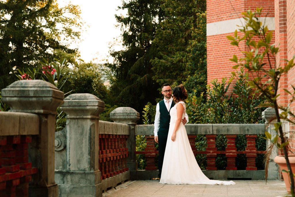 Emily Florent married couple Chateau Saint Michel