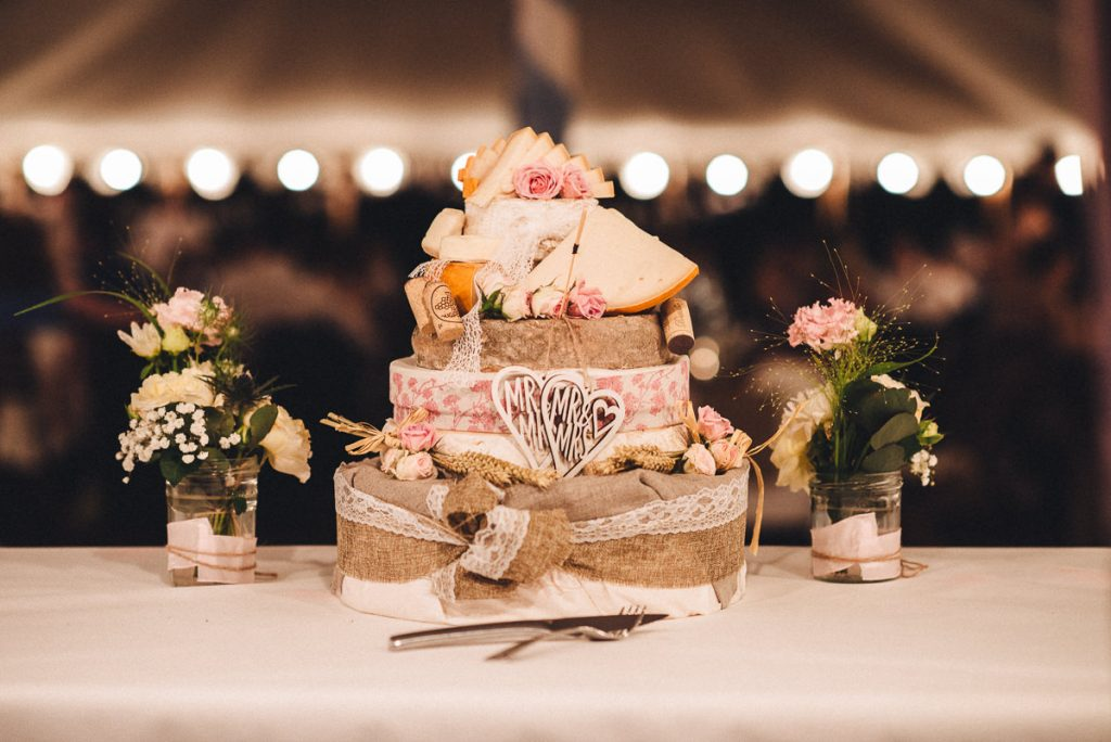 Cheese Cake at wedding