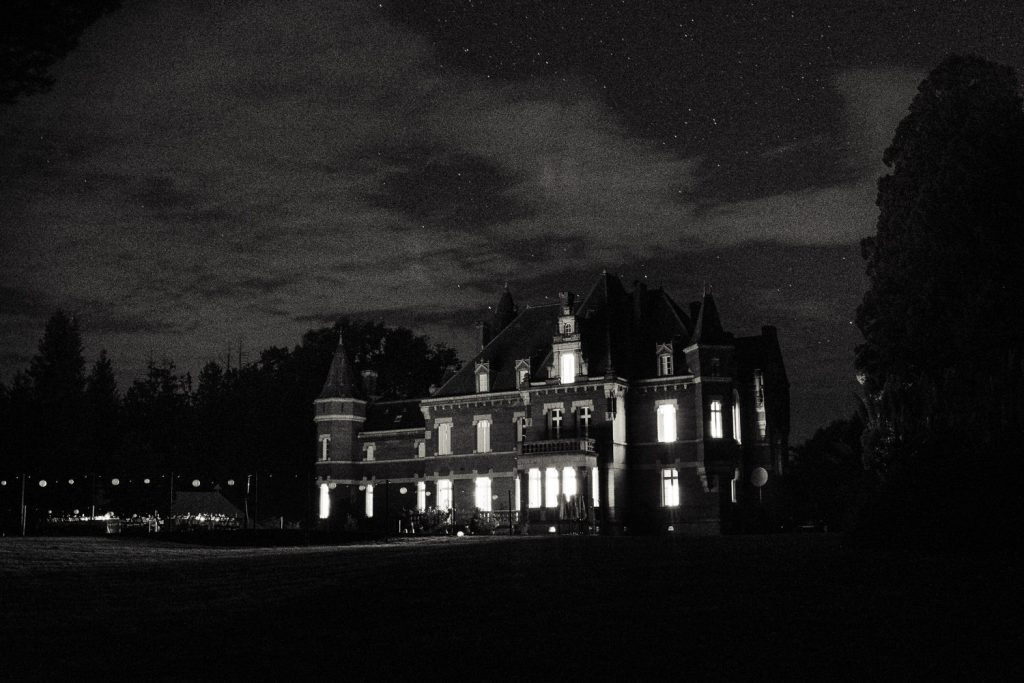 Chateau Saint Michel at night